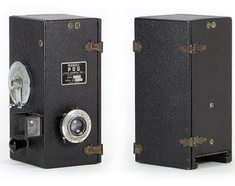 Rare Vintage 1935 Mandel-PDQ Model H Street Camera