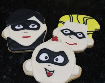 the incredibles cookies