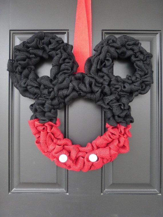 Disney Mickey Mouse Christmas Wreath