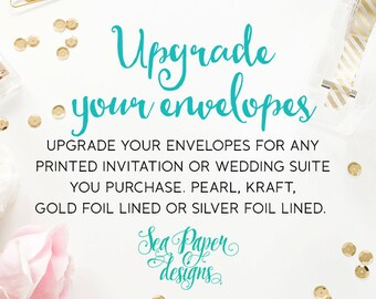 Upgrade Your Envelopes - Sea Paper Designs
