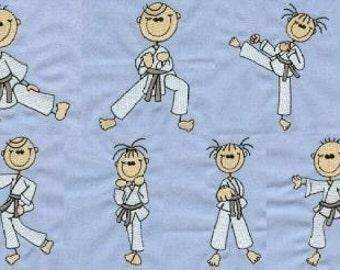 Karate Sticks - INSTANT DOWNLOAD - 4x4 hoop - Machine Embroidery