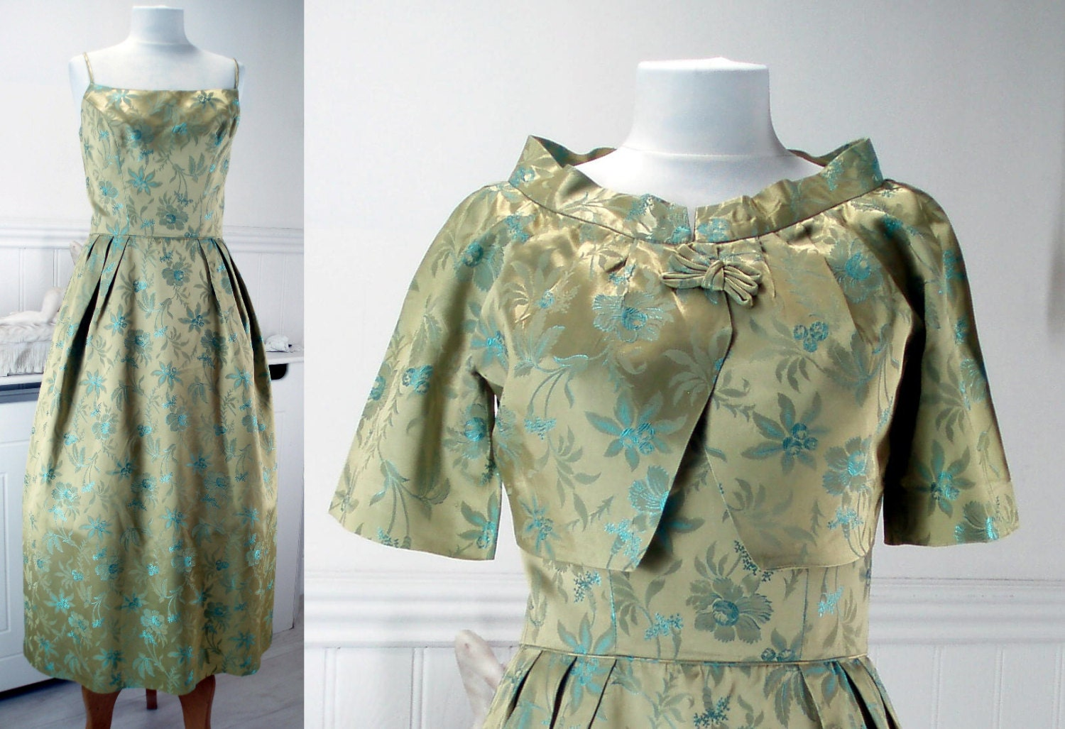 1950s Dress and Jacket