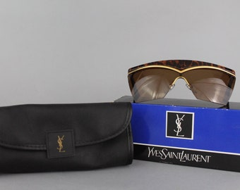 ysl tote - SALE Yves Saint Laurent Clutch Bag Portfolio by CatApolinarVintage