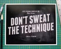 Dont sweat the technique lyrics