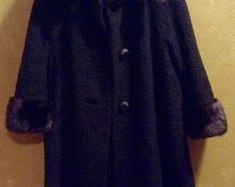 Vintage Fur Coat - 1940's