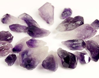 4 oz Top Quality Natural Brazilian Amethyst Points - R1003S