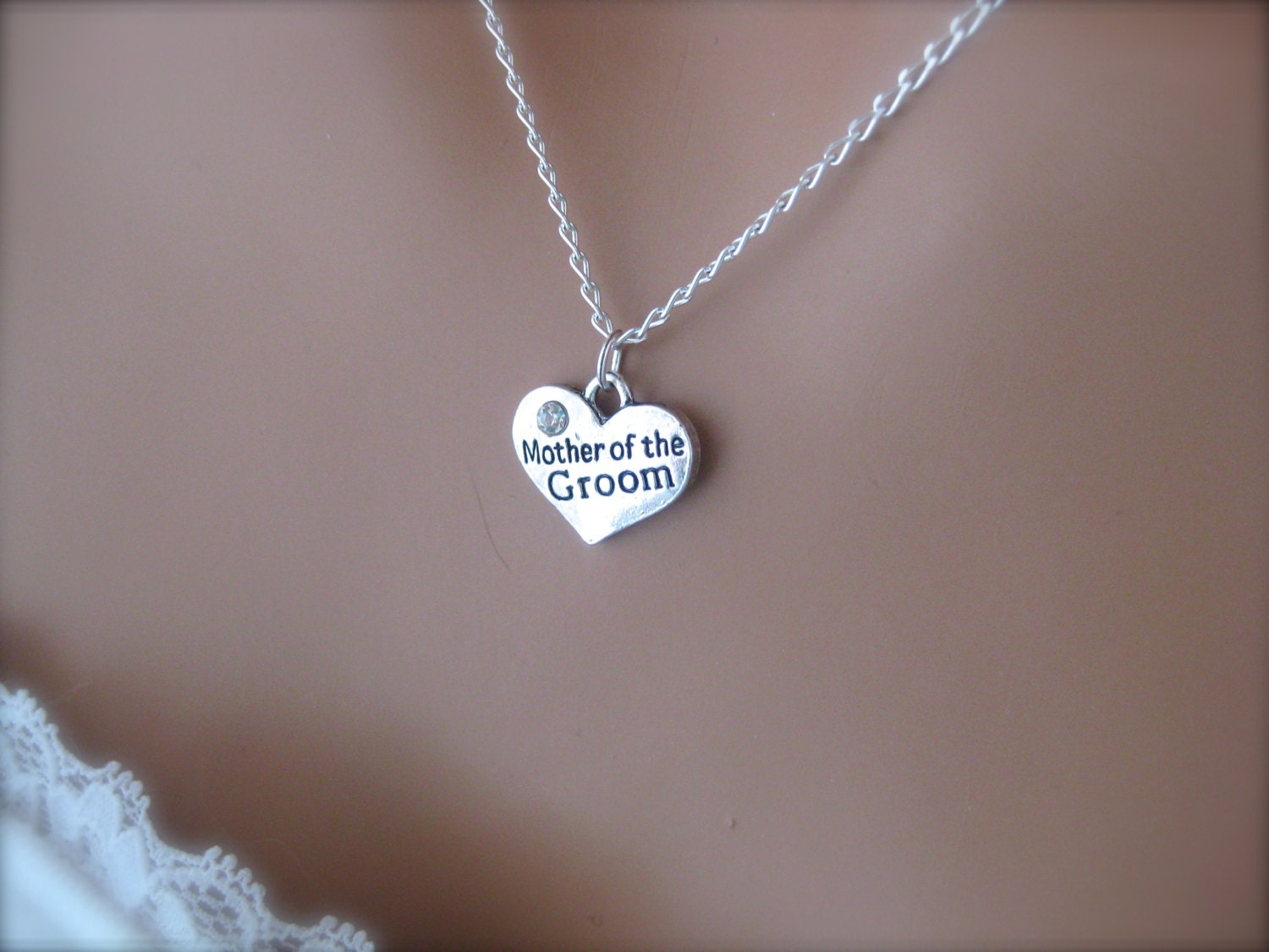 Mother Of The Groom Gift: Mother Of The Groom Necklace Bridal Jewelry By