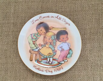 Vtg 1984 Mother's Day Plate