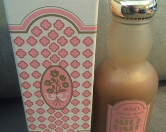 Vintage Avon Imperial Garden Liquid Milk Bath 6 oz New in Box