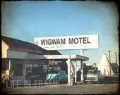 The Wigwam Hotel, Historic Route 66, Color Photography