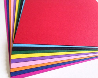 Heavy weight colored paper scrapbooking paper 10 color set