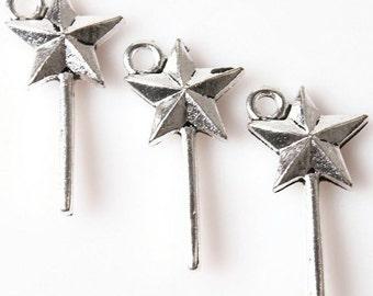 Fairy wand wand pendant 5 x.