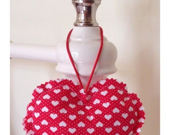 Fabric Hanging Heart