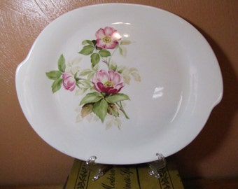 Vintage Glamour Platter in the Briar Rose Pattern by The American Limoges Co.