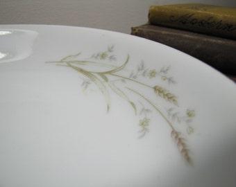 Vintage Golden Harvest Fine China Shallow Bowl