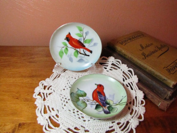 Vintage Plate Hand Painted Ci China Co Pear Fruit Plate