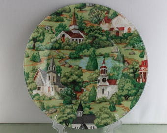 Decorative Country Church Plate