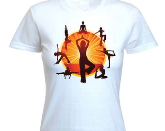 Yoga Wheel Women's T-Shirt