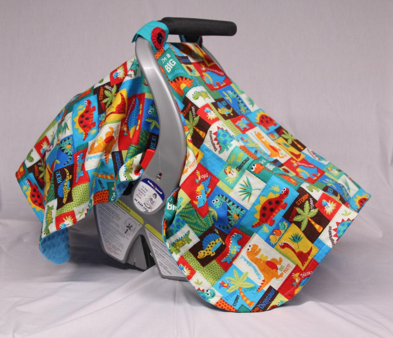 dinosaurs patchwork handmade baby car seat by joyfulbundles. Black Bedroom Furniture Sets. Home Design Ideas