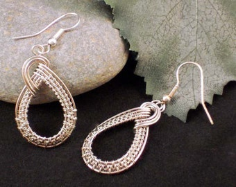 Wire Wrapped Tutorial: Classic Twist Earrings