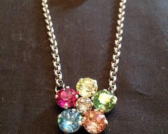 Swarovski necklace/earring set