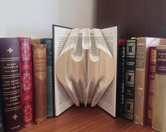 Batman Folded Book Art