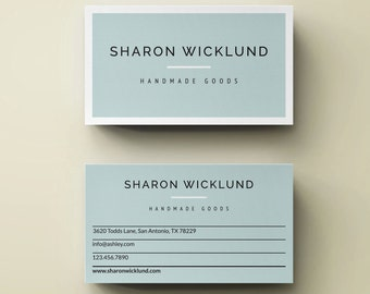 Classic Business Card Design