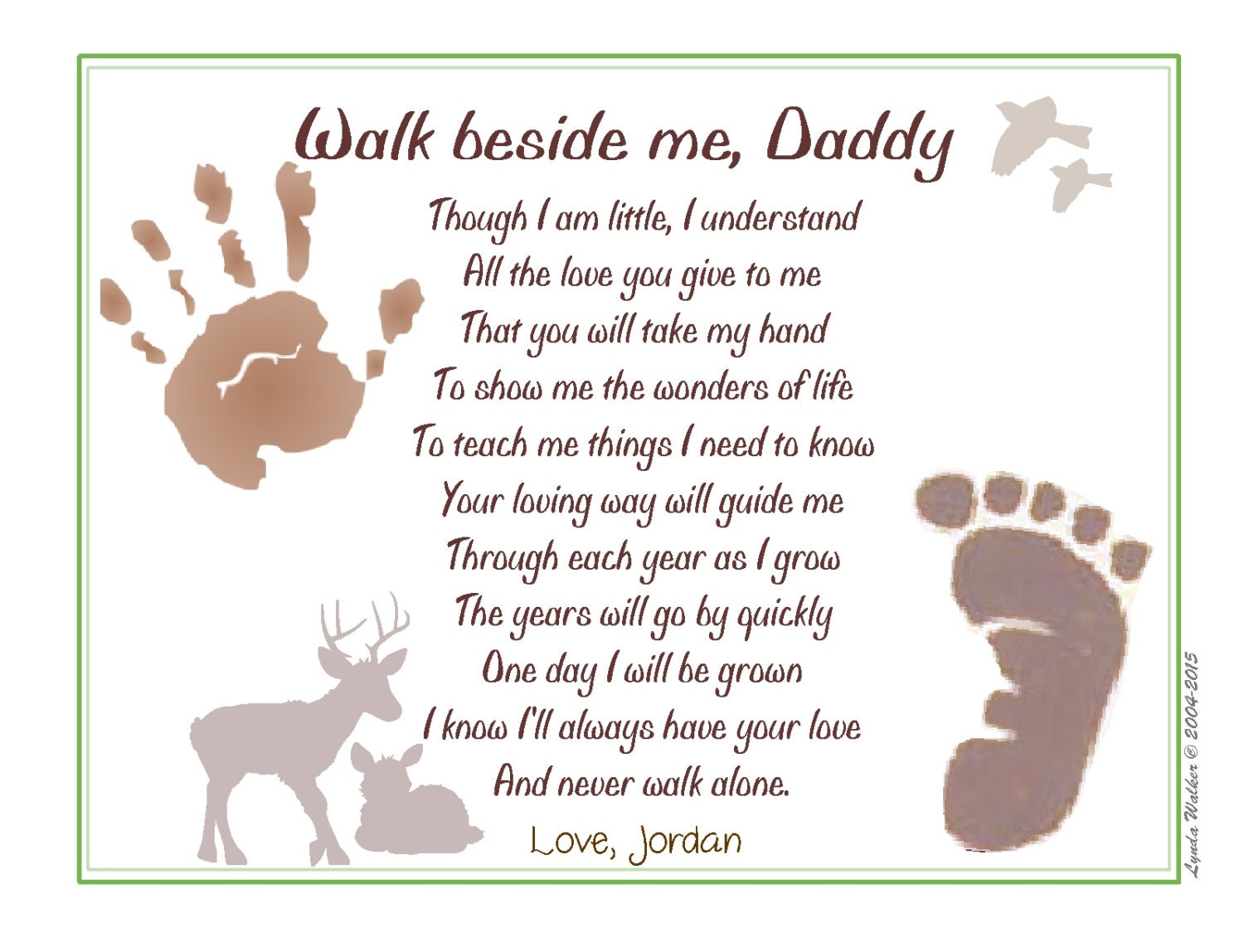 daddy poems from baby popular items for daddy poem on etsy