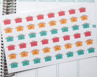 Crock Pot Cooking Planner Stickers {HOF102}