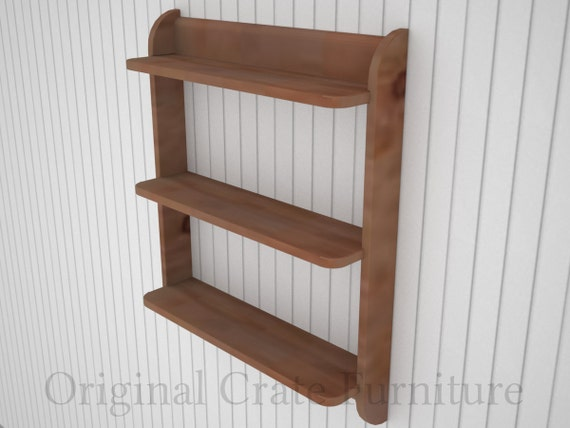 Wall mounted shelf unit Kitchen shelves or cd dvd and