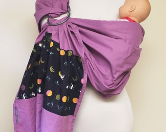 Ring Sling Baby Carrier: Lilac