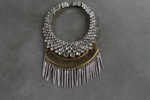 Statement Necklace - Handcrafted: Butler.