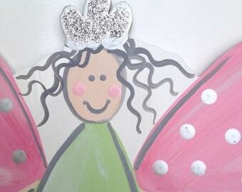 Fairy - Wallplaques, Wall Decor, Wall Art, Wooden Fairy Art