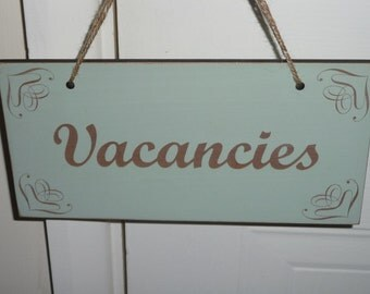 Personalised Double Sided Sign, Custom Shop Sing, Shabby Chic Wooden Sign, Distressed Plaque, Wedding Sign