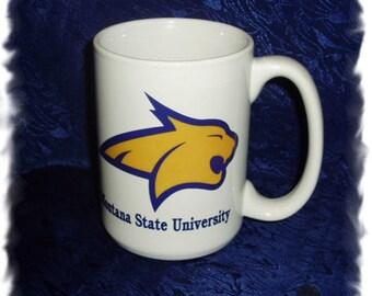 Montana State University Bobcats _15 ounce_ El Grande Mug