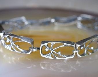 Sten & Laine Modernist Sterling Bracelet