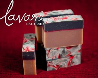 Indian Sandalwood Soap - Natural Sandalwood Soap - Indian Soap - Woodsy Soap - Cold Pressed Artisan Sandalwood Soap