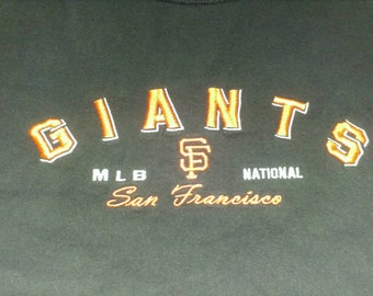San Francisco Giants MLB Embroidered Lee Levi's 90s Baseball T-shirt - Medium