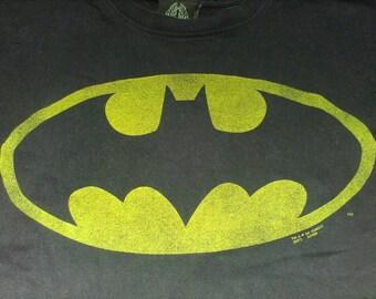 Batman 90s Bat Symbol T-shirt - Large