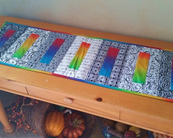 Blockade Quilted Table Runner