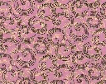 Thimbleberries - Southern Skies Plum Swirls Fabric