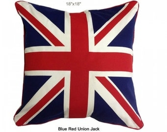 Knitting Pattern Union Jack Cushion Cover : union jack cushion cover   Etsy UK