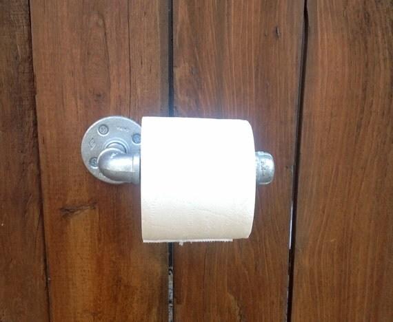 articles similaires style industriel salle de bain porte papier toilette steampunk tubes. Black Bedroom Furniture Sets. Home Design Ideas