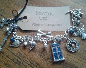 Doctor Who inspired Charm Bracelet
