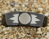 7mm Pipe-Tungsten Star wars Wings, Men's Ring, Tungsten Ring, Jewelry, Ring, Black Tungsten Ring, Gold Tungsten Ring, Free Engraving