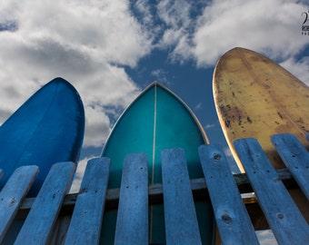 Surfboards, picture of surfboards, surf art, beach art, Ocean wall art, beach house decor, surf art prints, surf photos