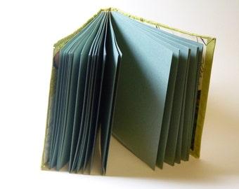 Textured green journal