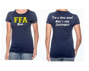 Ffa tshirt etsy for Ffa t shirt design