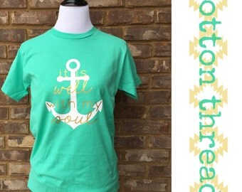 It Is Well With My Soul Anchor T-Shirt