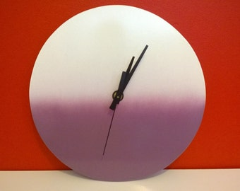 Hand made wall clock